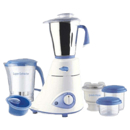 Preethi 550 Watt Mixer Grinder (MG 153, White)_1