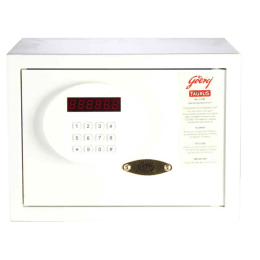 Godrej Taurus Safety Locker (SEEC0100, Ivory)_1