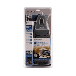 Belkin 2M 6 Outlet Surge Protector (F9S623vzb, Grey)_1