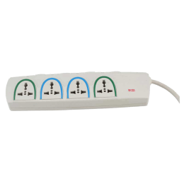 GM 4 Outlet Spike Adaptor (3055, White)_1