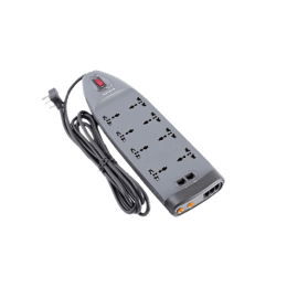Belkin 3M 8 Outlet Surge Protector (F9G826VZB, Grey)_1