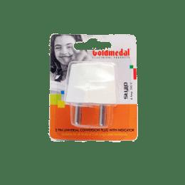GM 6 Amp 2 Pin Plug (GL390, White)_1