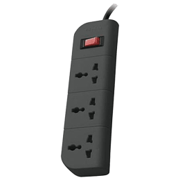 Belkin 1.5M 3 Outlet Surge Protector (F9E300ZB, Grey)_1