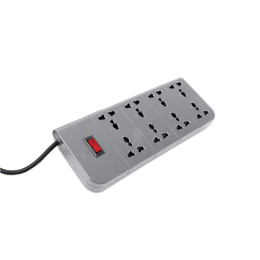 Belkin 2M 8 Outlet Surge Protector (F9E800ZB, Grey)_1