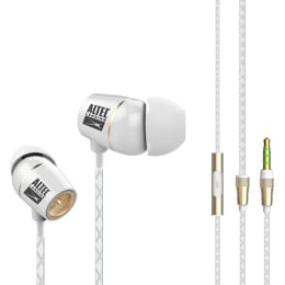Altec Lansing In-Ear Wired Earphones with Mic (Earc60, White)_1
