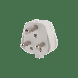 GM 16 Amp 3 Pin Elite Plug Top (3004, White)_1