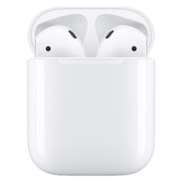 Buy Apple Airpods In Ear Truly Wireless Earbuds With Mic Bluetooth 5 0 Charging Case Mv7n2hn A White Online Croma