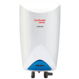 Hindware Atlantic 3 Litres Instant Water Geyser (3000 Watts, HI03PDB30, White/Grey)_1
