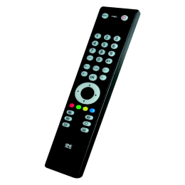 One for All Slim Line TV Remote (URC-3910, Black)_1