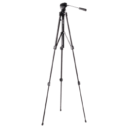 Sony 144.1 cm Height Tripod (VCT-R640, Black)_1