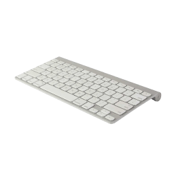 Apple Wireless Keyboard (MC184LL/A, Silver)_1