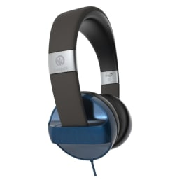 IFrogz IFCARH-BL0 Carbide Headphones with Mic (Blue)_1