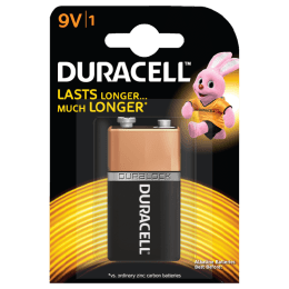 Duracell Basic 9V Battery (DU CB AL 9V 1, Copper Black)_1