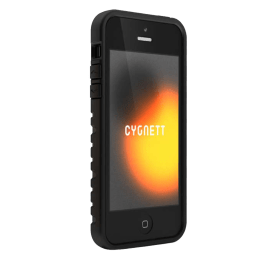 Cygnett Bulldozer Extra Protective Silicone Back Case Cover for Apple iPhone 5 (CY0871CPBUL, Black)_1