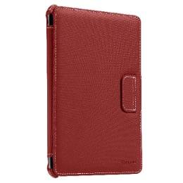 Targus Vuscape Polyurethane Flip Case For iPad Mini (Topstitch Design, THZ18201AP-50, Red)_1