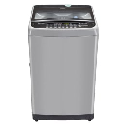 LG 8.5kg T9577TEELJ Fully Automatic Top Loading Washing Machine (Middle Free Silver/Deep Brown)_1