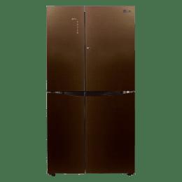 LG 679 Litres GC-M247UGLN Side-By-Side Refrigerator (Linen Brown)_1