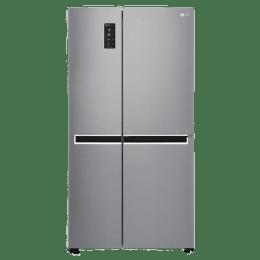 LG 687 Litres Frost Free Inverter Side-by-Side Door Refrigerator (Multi Air Flow, GC-B247SLUV.APZQEBN, Shiney Steel)_1