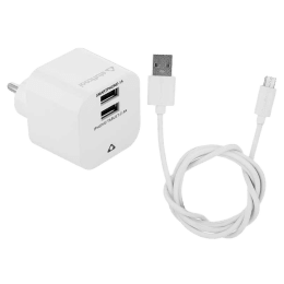 Stuffcool 2.4 Amp USB (Type-A) to Micro USB Cable (HKSMT2BRG-WHT, White)_1