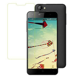 Scrik Tempered Glass Screen Protector for LYF Wind 1 (Transparent)_1