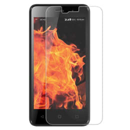 Scrik Tempered Glass Screen Protector for LYF Flame 1 (Transparent)_1