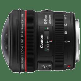 Canon EF 8-15 mm F4L Fisheye USM Lens (Black)_1