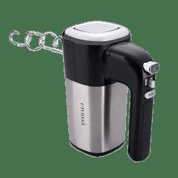 Croma 400 Watt Hand Mixer (CRK4172, Black/Silver)_1