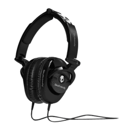 Skullcandy S6SKFZ-003 Skullcrusher Wired Headphone (Black)_1