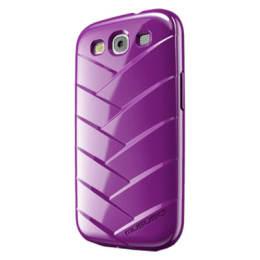 Musubo Mummy Polyurethane Back Case Cover for Samsung Galaxy S3 (Purple)_1