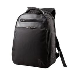 VIP Contour PU Fabric Laptop Backpack (Black)_1