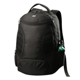 VIP Polyester Fabric Laptop Backpack (I01 02, Black)_1