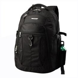 VIP Backpack for Laptop (I02, Black)_1