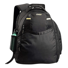 VIP Backpack for Laptop (I02, Black/Yellow)_1