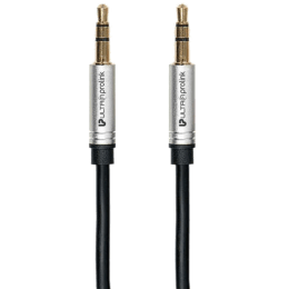 Ultraprolink 150 cm 3.5mm Stereo Aux Cable (UL107BLK-0150, Black)_1