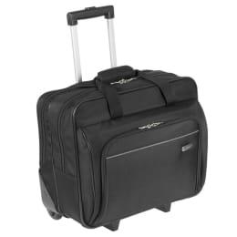 Targus Polyester Laptop Trolley Bag (TBR003US, Black)_1