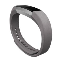 Fitbit Alta Leather Band-Large (FB158LBGPL, Graphite)_1