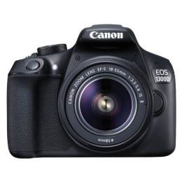 Canon 18 MP DSLR Camera Body with 18 - 55 mm Lens (EOS 1300D, Black)_1