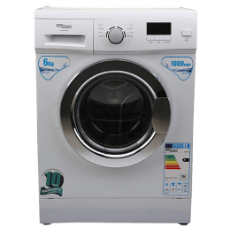 Super General 6 kg Fully Automatic Front Loading Washing Machine (SGWI6100N, White)_1