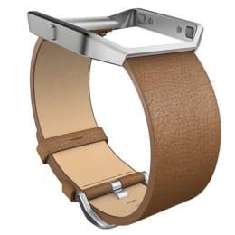 Fitbit Leather Buckle Closure Blaze Band (FB159LBCML, Camel)_1