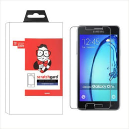 Scratchgard Tempered Glass Screen Protector for Samsung Galaxy On5 (Transparent)_1