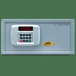 Godrej E-Laptop Safety Locker (AS8008, Silver)_1