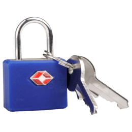 Travel Blue TSA High Security Lock (TB-027B, Blue)_1