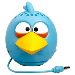 Gear4 Angry Birds Classic Blue Bird Mini Speaker (PG780G, Blue)_1