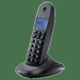 Motorola Wireless Phone (C1001LBI, Black)_1
