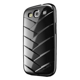 Musubo Mummy Plastic Back Case Cover for Samsung Galaxy S3 (Black)_1