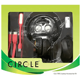 Circle Laptop Accessories Kit (CLS-700, Black)_1