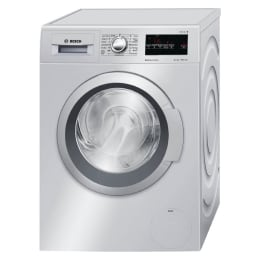Bosch 8 kg Fully Automatic Front Loading Washing Machine (WAT24168IN, Silver)_1