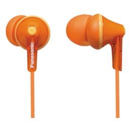 Panasonic In-Ear Wired Earphones (RP-HJE125E, Orange)_1