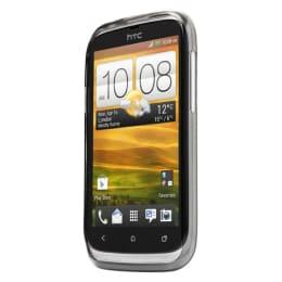Capdase Xpose Rubber Soft Jacket Back Case Cover for HTC Desire X/V (Black)_1