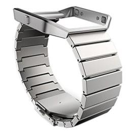 Fitbit Clasp Closure Metal Link Standard Blaze Band (FB159MLSR, Silver)_1